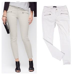 Ann Taylor Zip Pocket Jeans The Supper Skinny Sz 0